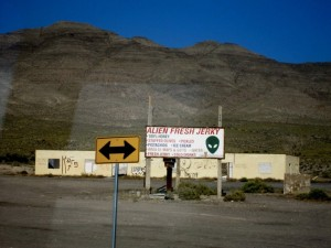 Alien Jerky in Area 51