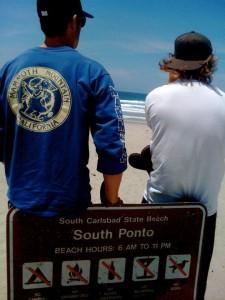 eyeing south ponto