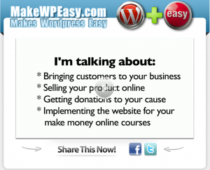 Make WP Easy