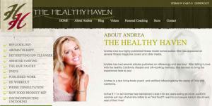 andrea cox the healthy haven